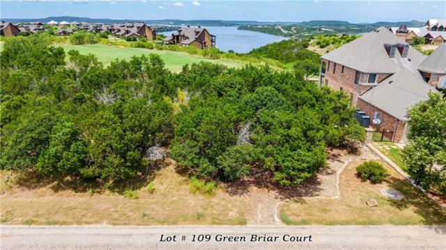 LT109 Green Briar Court, Possum Kingdom Lake, TX 76449 (MLS #13752054) :: Baldree Home Team