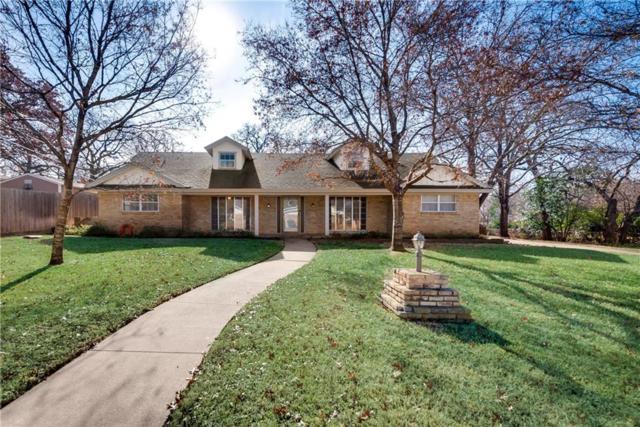112 E Pecan Street, Hurst, TX 76053 (MLS #13752204) :: The Chad Smith Team