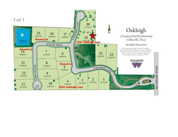 5701 Oakleigh Lane, Colleyville, TX 76034 (MLS #13752952) :: Team Hodnett