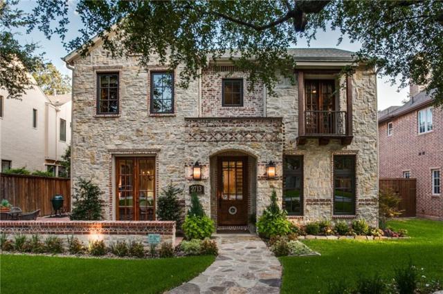 2713 Westminster Avenue, University Park, TX 75205 (MLS #13754741) :: Robbins Real Estate Group