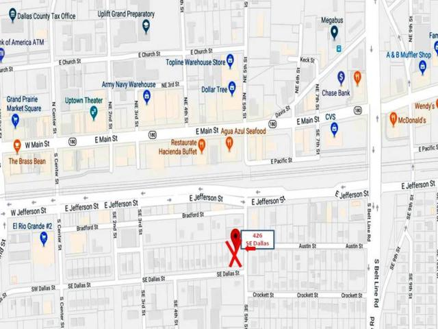422 Dallas Street, Grand Prairie, TX 75051 (MLS #13755024) :: Team Hodnett