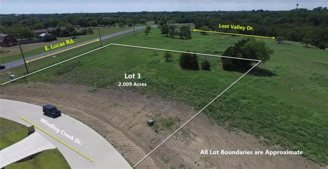 115 Winding Creek Drive, Lucas, TX 75002 (MLS #13755414) :: Frankie Arthur Real Estate