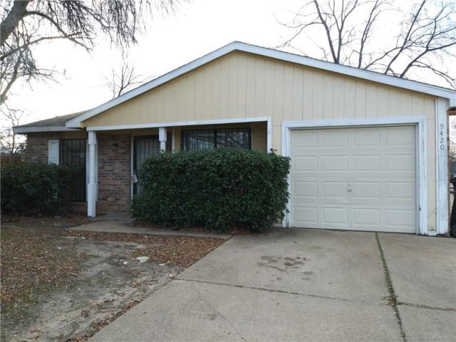 9420 Culberson Street, Dallas, TX 75227 (MLS #13755458) :: Team Hodnett