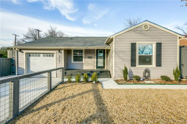 4707 Wateka Drive, Dallas, TX 75209 (MLS #13755750) :: RE/MAX Town & Country