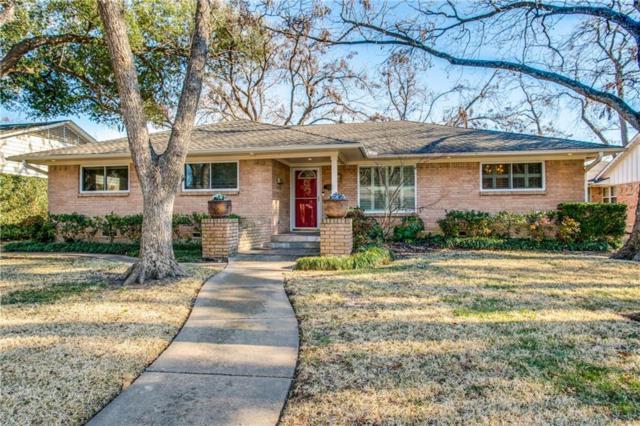 7036 Arboreal Drive, Dallas, TX 75231 (MLS #13755912) :: Team Hodnett