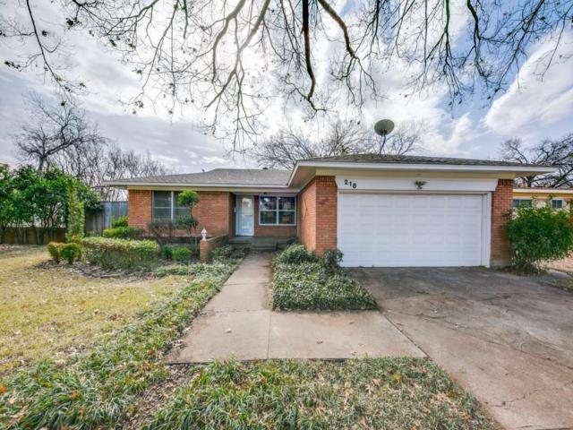 218 Harman Street, Duncanville, TX 75116 (MLS #13756488) :: Pinnacle Realty Team