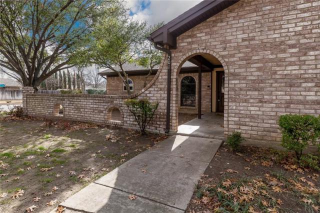201 Baker Drive, Hurst, TX 76054 (MLS #13756663) :: The Chad Smith Team