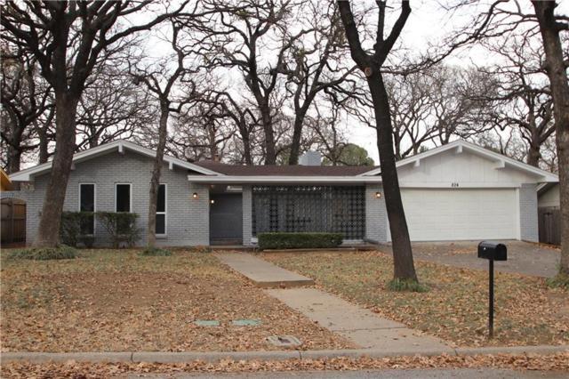 824 Wheelwood Drive, Hurst, TX 76053 (MLS #13756863) :: The Chad Smith Team