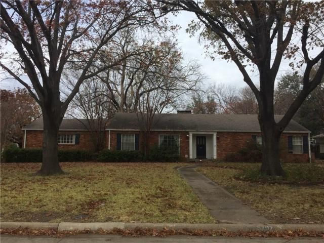 5707 Williamstown Road, Dallas, TX 75230 (MLS #13757111) :: Robbins Real Estate Group
