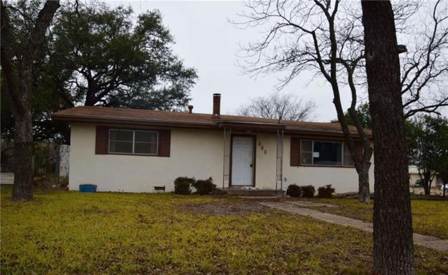 802 S Walnut Street, Brady, TX 76825 (MLS #13757437) :: Team Hodnett