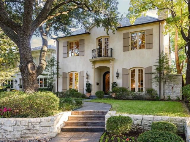 3409 Dartmouth Avenue, Highland Park, TX 75205 (MLS #13757770) :: Robbins Real Estate Group