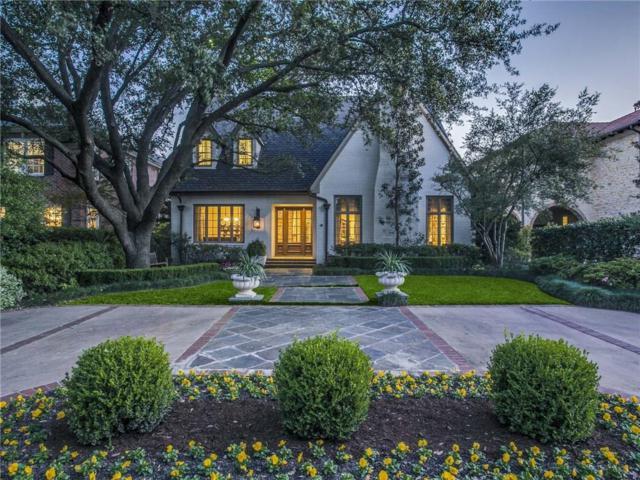 3833 Southwestern Boulevard, University Park, TX 75225 (MLS #13757807) :: Robbins Real Estate Group