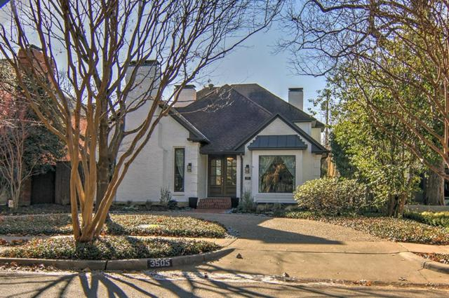3505 Potomac Avenue, Highland Park, TX 75205 (MLS #13758416) :: The Holman Group