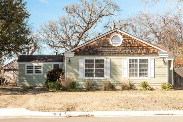 3844 Englewood Lane, Fort Worth, TX 76107 (MLS #13758657) :: The Holman Group