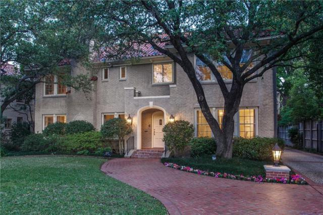 4327 Beverly Drive, Highland Park, TX 75205 (MLS #13758874) :: Robbins Real Estate Group