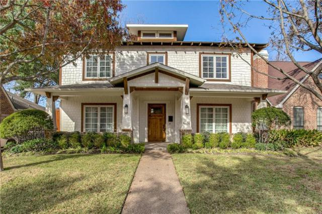 6131 Palo Pinto Avenue, Dallas, TX 75214 (MLS #13758935) :: The Holman Group