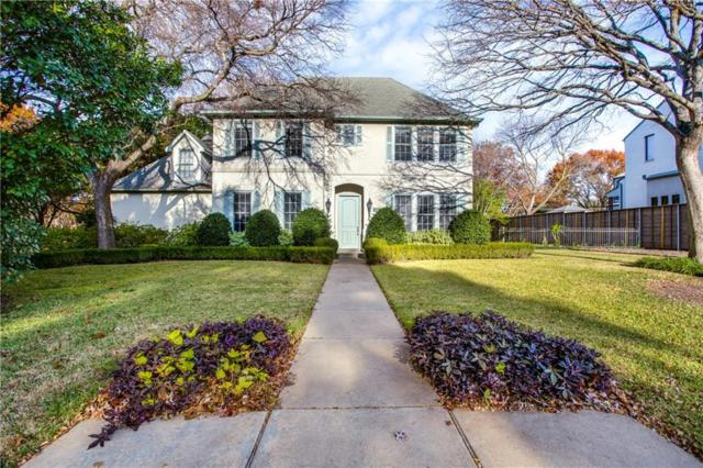 4405 Pomona Road, Dallas, TX 75209 (MLS #13758987) :: NewHomePrograms.com LLC
