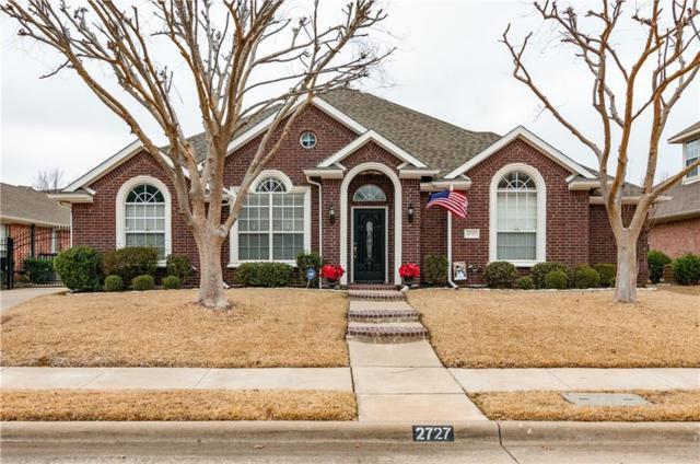 2727 Wildcreek Trail, Keller, TX 76248 (MLS #13758988) :: Frankie Arthur Real Estate