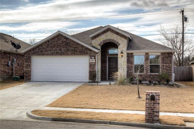 1411 Thibodaux Drive, Greenville, TX 75402 (MLS #13759484) :: NewHomePrograms.com LLC