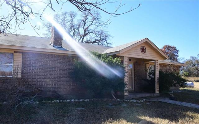 401 Angus Drive, Weatherford, TX 76088 (MLS #13759541) :: NewHomePrograms.com LLC