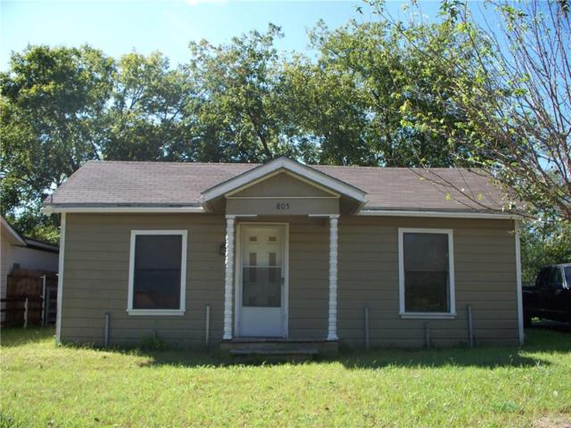 805 N Rusk Street, Weatherford, TX 76086 (MLS #13760008) :: Team Hodnett