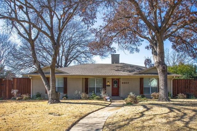 9807 Edgecove Drive, Dallas, TX 75238 (MLS #13760192) :: Team Hodnett