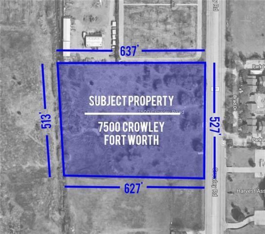 7500 Crowley Road, Fort Worth, TX 76134 (MLS #13760306) :: Team Hodnett