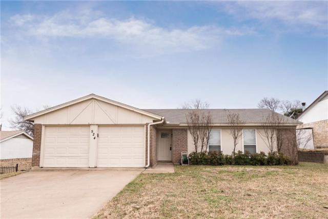 524 Trail Lake Drive, Crowley, TX 76036 (MLS #13760584) :: The Mitchell Group