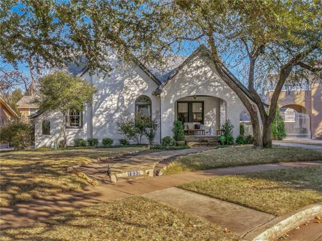 1933 Berkeley Place, Fort Worth, TX 76110 (MLS #13760869) :: The Chad Smith Team