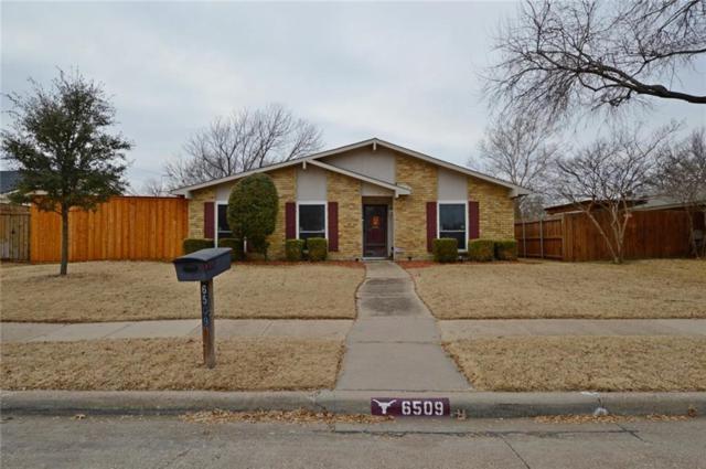 6509 Rainier Road, Plano, TX 75023 (MLS #13761270) :: Exalt Realty