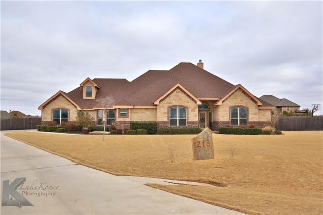 218 Dove Creek Path, Abilene, TX 79602 (MLS #13763356) :: Team Hodnett