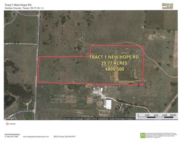 Tr 1 New Hope Rd, Cross Roads, TX 76227 (MLS #13763488) :: Team Hodnett