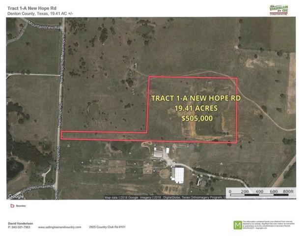 Tr 1-A New Hope Rd, Cross Roads, TX 76227 (MLS #13763512) :: Team Hodnett