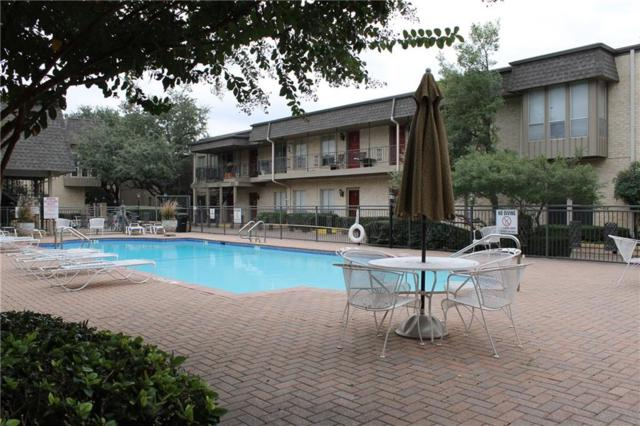 4320 Bellaire Drive S 111W, Fort Worth, TX 76109 (MLS #13764052) :: Team Hodnett