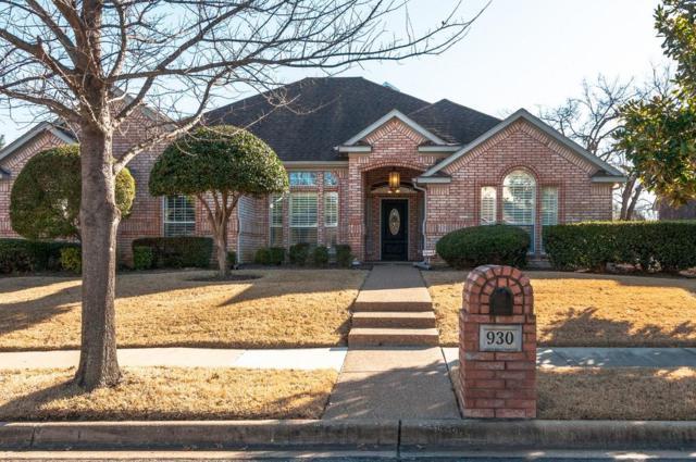 930 Rush Creek Road, Keller, TX 76248 (MLS #13764630) :: Team Hodnett