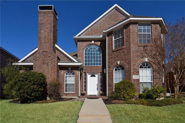 2408 Dyers Oak Drive, Plano, TX 75074 (MLS #13765586) :: Team Hodnett