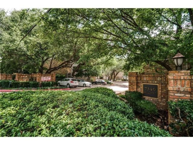 7340 Skillman Street #108, Dallas, TX 75231 (MLS #13765607) :: Team Hodnett