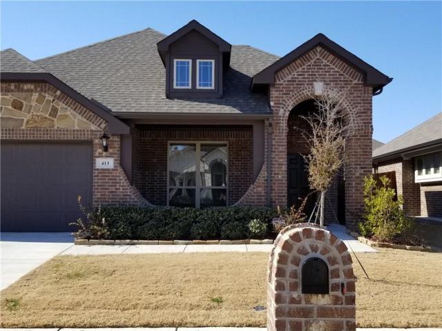 413 Eastbrook Drive, Anna, TX 75409 (MLS #13765968) :: Team Hodnett