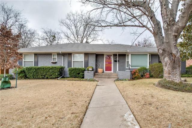 4419 Norris Street, Dallas, TX 75214 (MLS #13766074) :: Team Hodnett