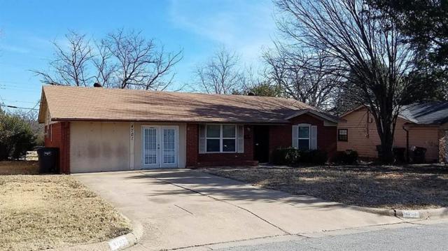 4701 Rickee Drive, Fort Worth, TX 76115 (MLS #13768343) :: Team Hodnett