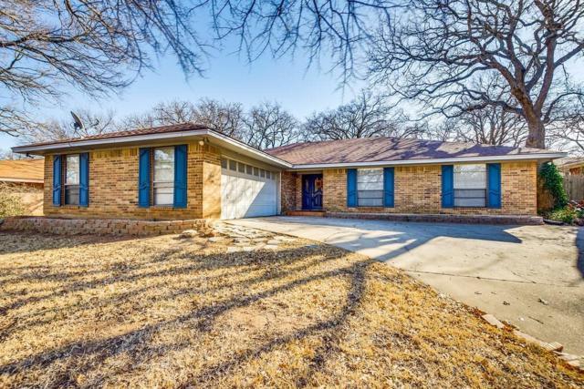 733 Highland Crest Drive, Hurst, TX 76054 (MLS #13769248) :: Team Hodnett