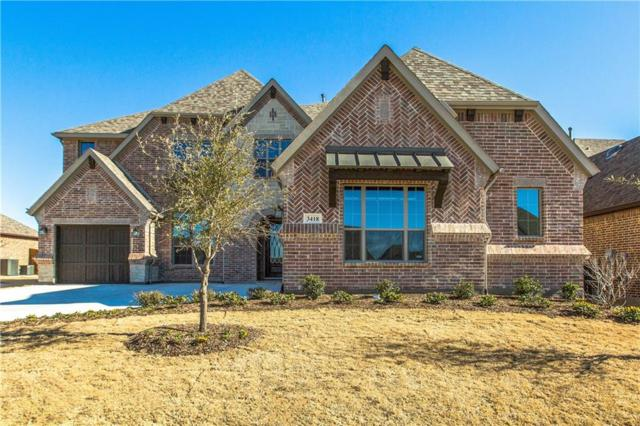 3418 Royal Ridge Drive, Rockwall, TX 75087 (MLS #13769333) :: Team Hodnett
