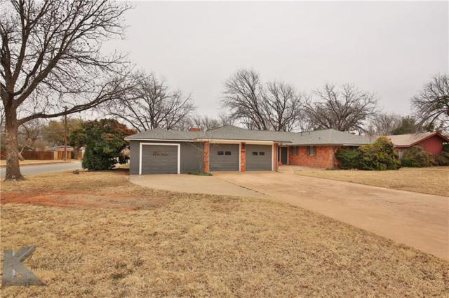 649 Westwood Drive, Abilene, TX 79603 (MLS #13769603) :: The Cheney Group