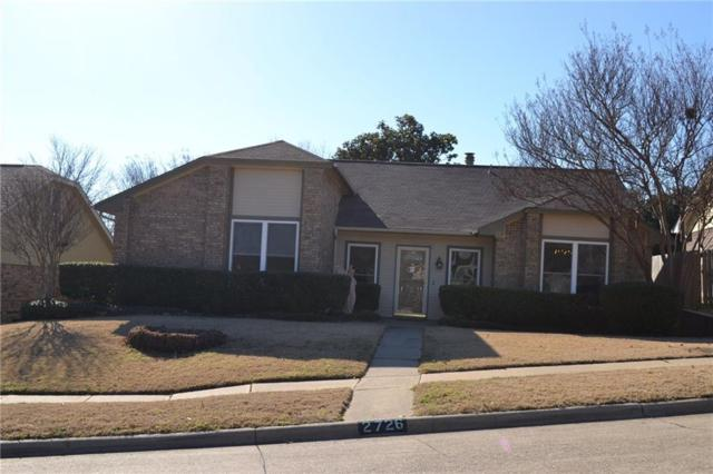 2726 Phillips Drive, Garland, TX 75044 (MLS #13769630) :: The Marriott Group