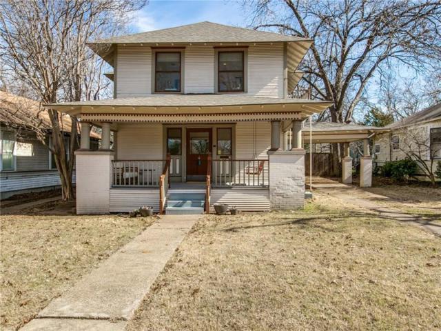 318 S Clinton Avenue, Dallas, TX 75208 (MLS #13769798) :: Team Hodnett