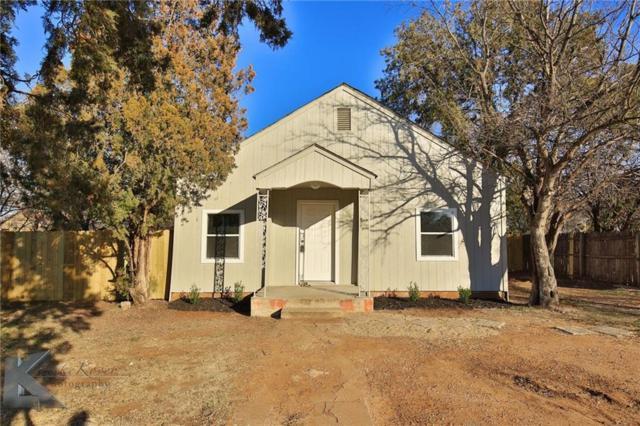 1701 Swenson Street, Abilene, TX 79603 (MLS #13770665) :: Team Hodnett