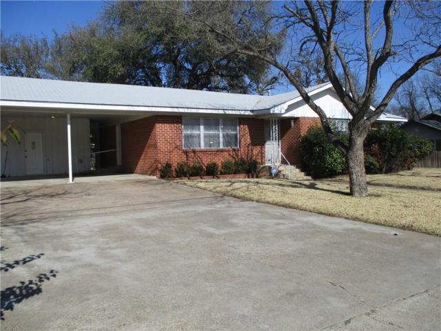1009 E Boynton Street, Hamilton, TX 76531 (MLS #13770891) :: Team Hodnett