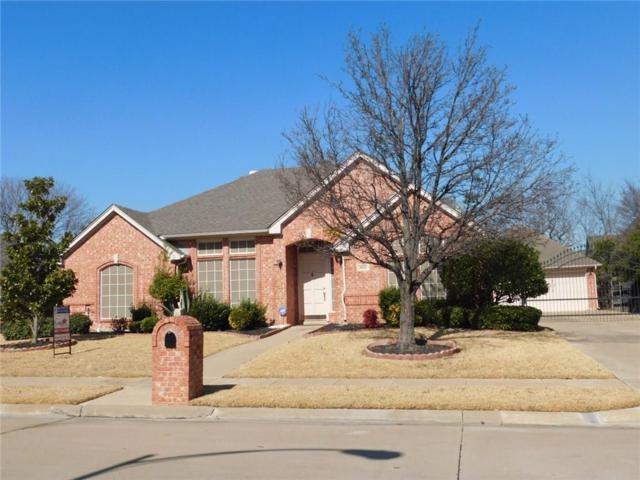 8825 Trails Edge Drive, North Richland Hills, TX 76182 (MLS #13771035) :: Team Hodnett