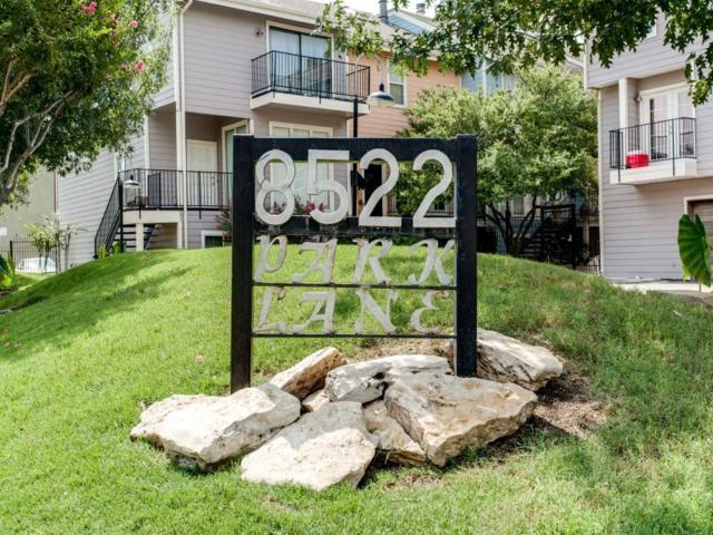 8522 Park Lane #1, Dallas, TX 75231 (MLS #13772212) :: Team Hodnett