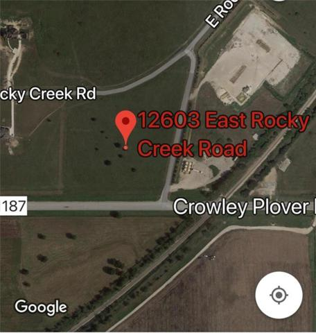 12603 E Rocky Creek Road, Crowley, TX 76036 (MLS #13772410) :: The Mitchell Group
